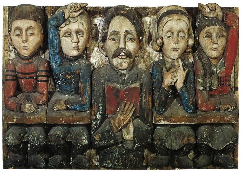 Ernst Ludwig Kirchner_Lehrer Florian Batschi mit Schulkindern_1936.jpg